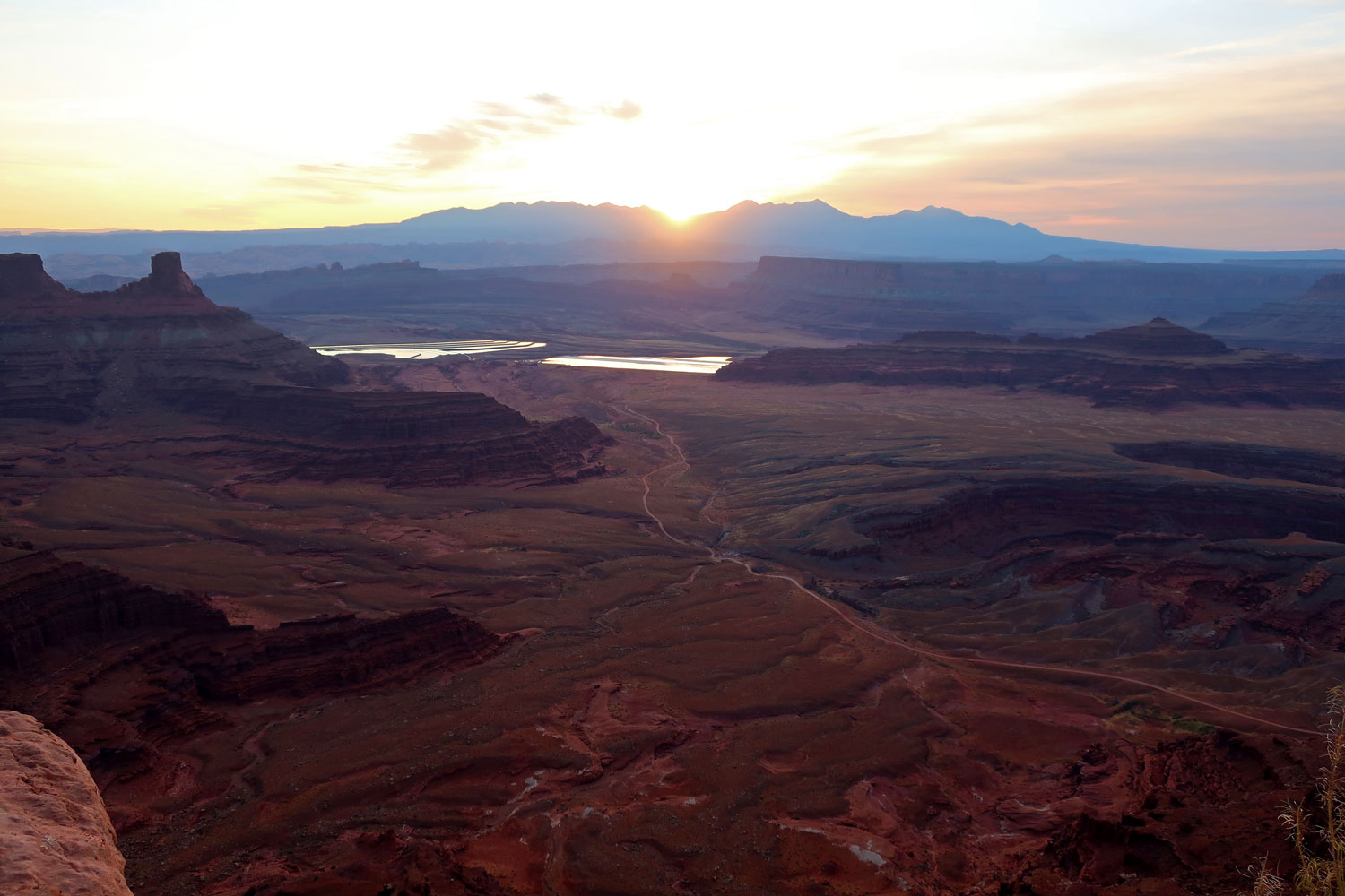 Watch the Sunset and/or Sunrise at Dead Horse Point State Park
