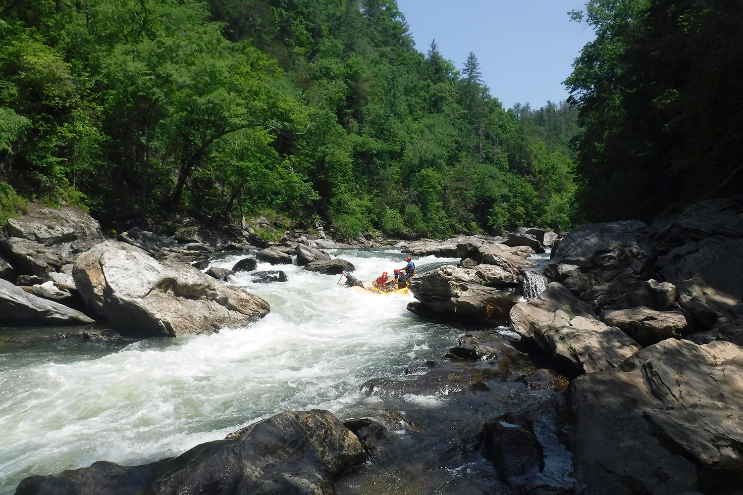 Chattooga River White Water Rafting