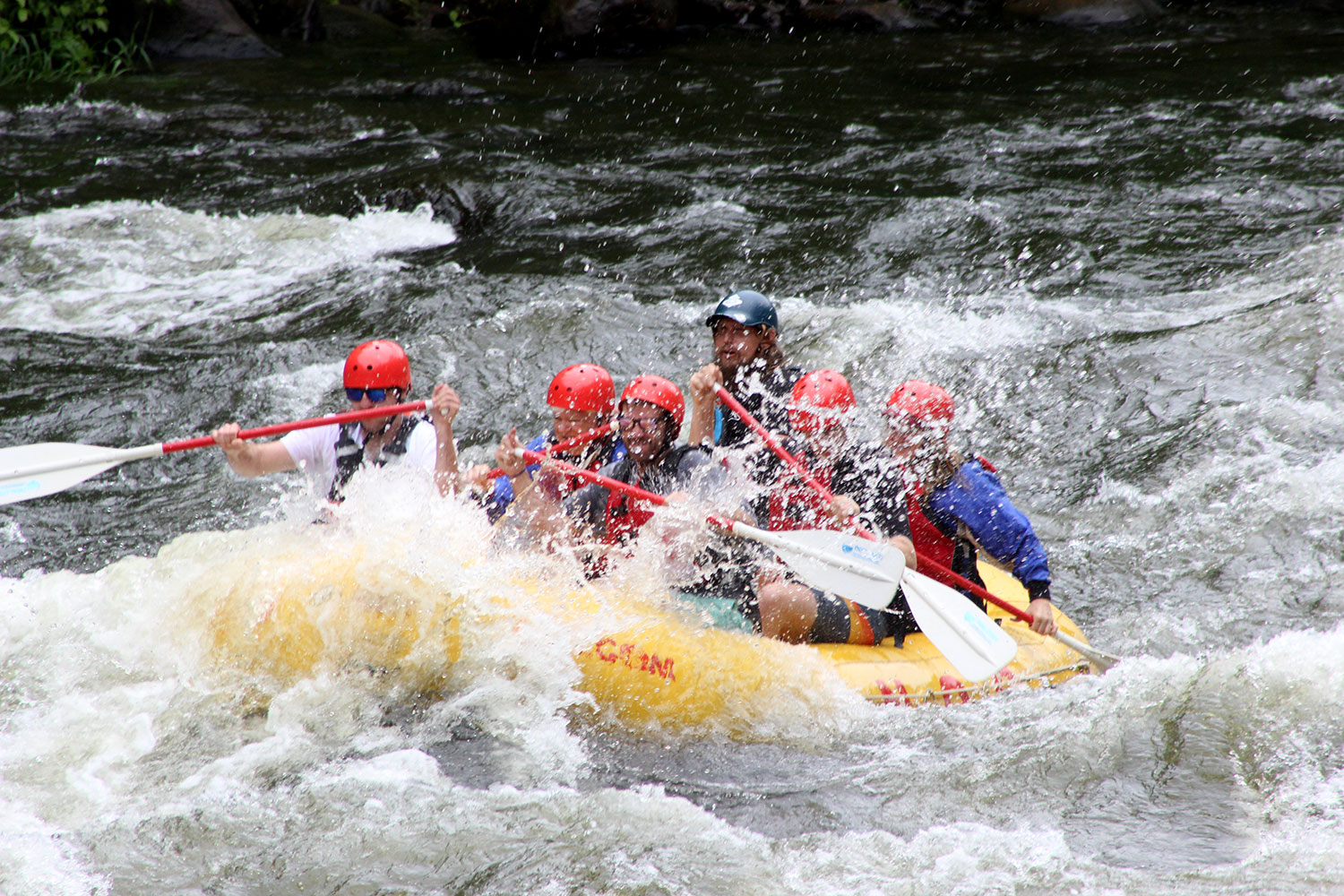 Upper Pigeon River White Water Rafting